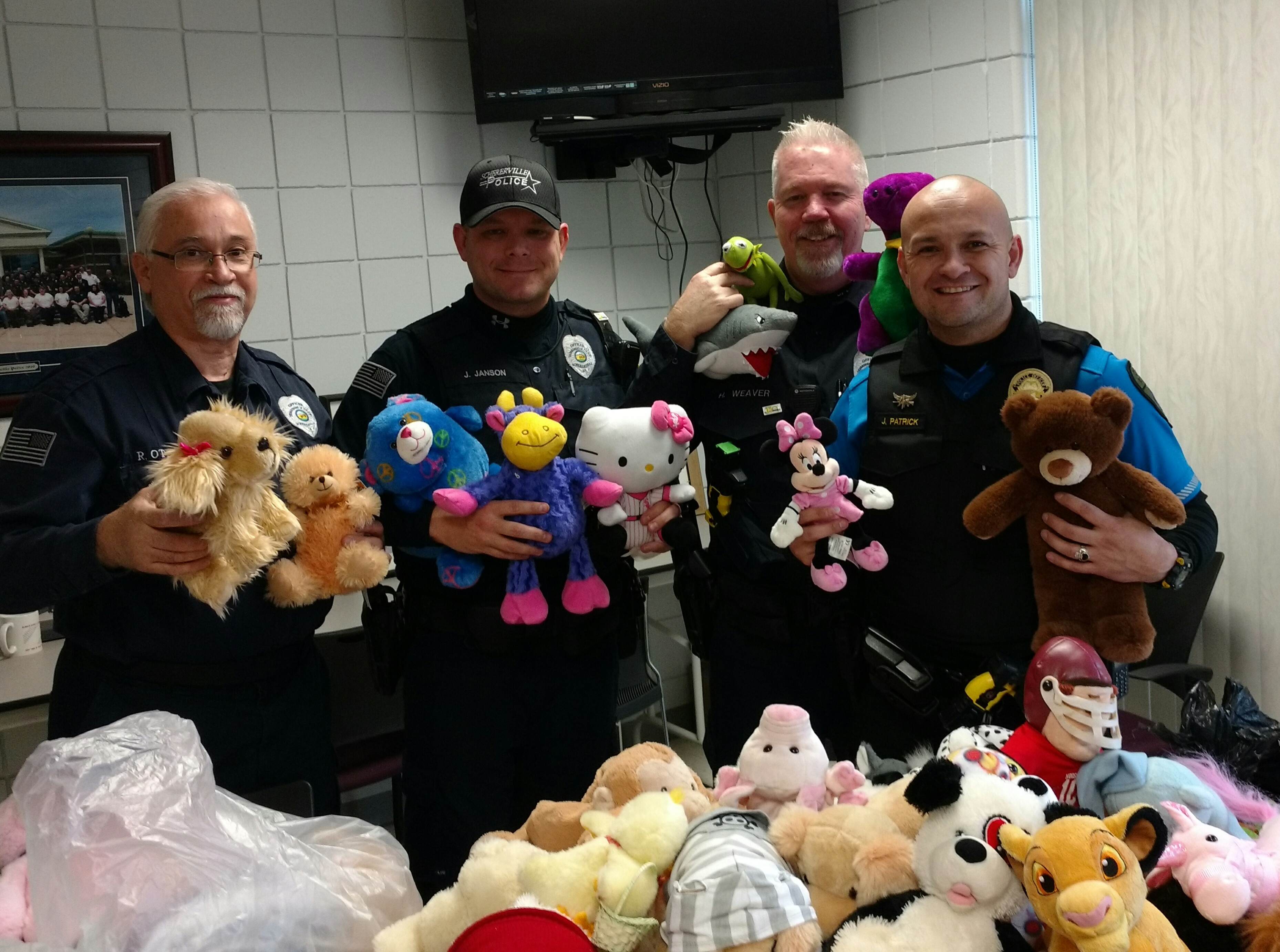 Officers & Teddy Bears