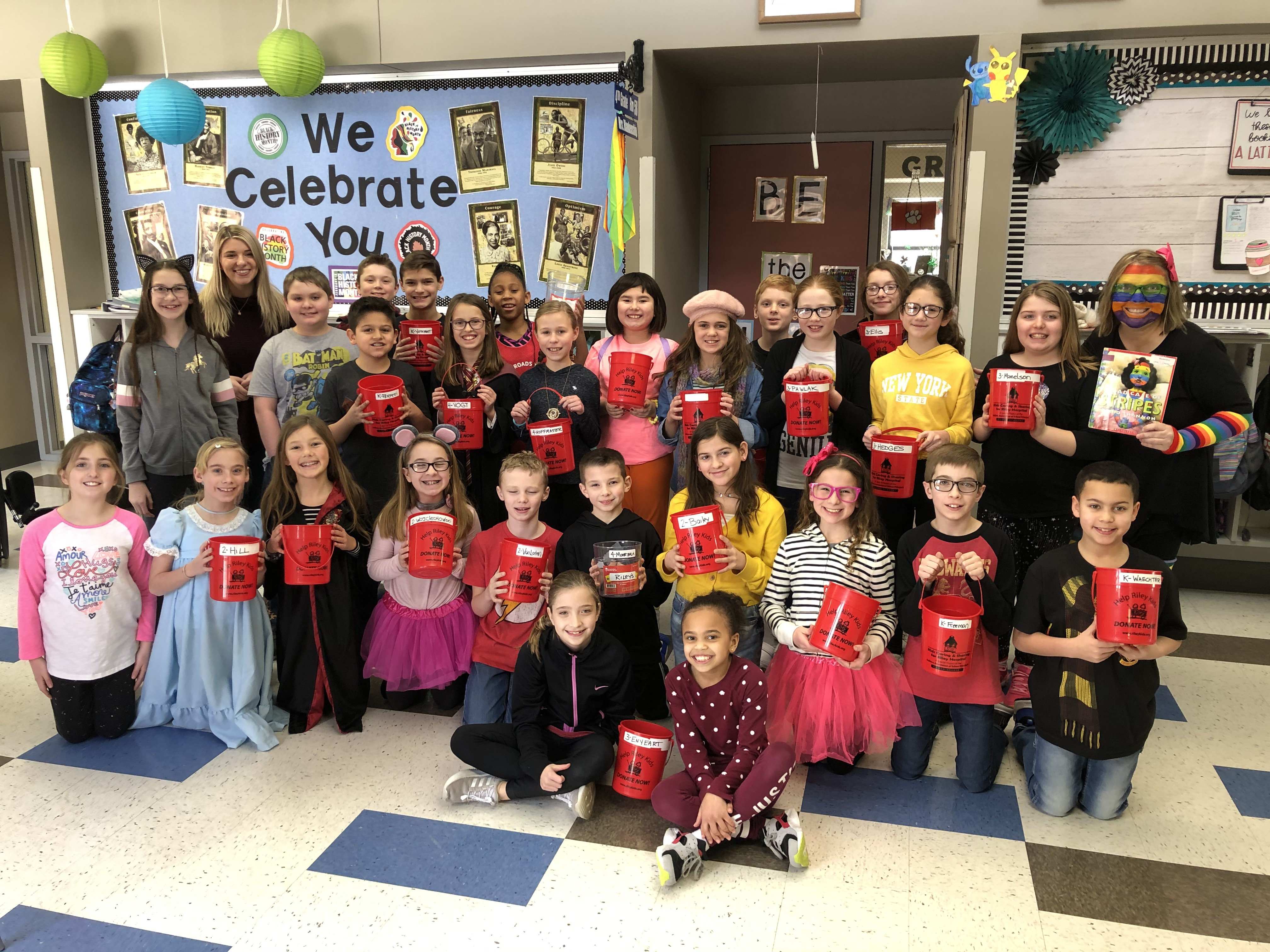 As a Kids Caring and Sharing School, Kolling Elementary Student Council hosted Spirit Week to raise funds for Riley Children's Hospital.