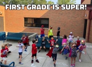 1st Grade is Super!